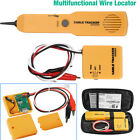 Network RJ11 Line Finder Cable Tracker Tester Toner Electric Wire Tracer Pouch