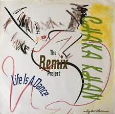 CHAKA KHAN - Life Is A Dance: The Remix Project (LP) (VG-/G)