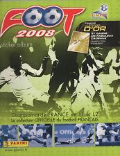 PANINI FOOT 2008 (FRANCE) : ALBUM COMPLET AVEC LES IMAGES COLLEES