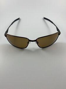Oakley Splinter Toast Brown Matte Black Bronze Polarized Spring Hinges 12-981