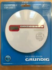 Grundig CDP 6300 Portable MP3 CD Player with Ultra Bass System (NEW)