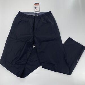 Marmot Mens XL Bantamweight Pants NWT $225 Black Lightweight Pertex Rain Active