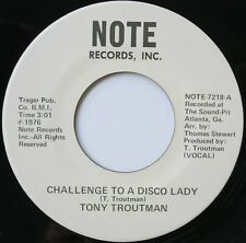 70S SOUL DANCER 45 TONY TROUTMAN ON NOTE - IN D VERSAND KOSTENLOS AB 5 45S