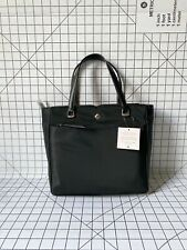 NWT Kate Spade Jae WKRU6512 Medium Nylon Satchel Black Crossbody Bag