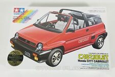 Tamiya 1984 HONDA CITY CABRIOLET Model Kit 1/24 Scale Brand New