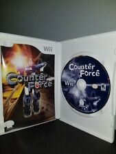 Counter Force  Nintendo Wii CIB complete original case and manual  023