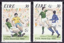 SELLOS DEPORTES FUTBOL. IRLANDA1990 715/16 FIFA COPA DEL MUNDO 2v.