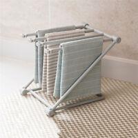 Foldable Drying Rack Shelf Kitchen Towel Cloth Storage Organizer Holder Rack