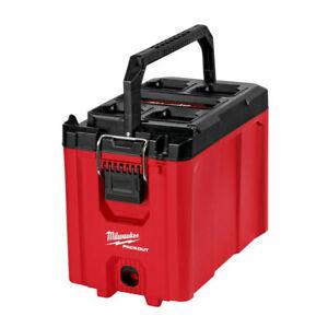 Milwaukee PACKOUT Comp. Tool Box Storage Organizer Impact Resistant Polymer 2020