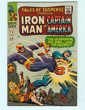 Tales of Suspense 76 8.0 VF Iron Man Captain America Marvel Comics Silver Age HG