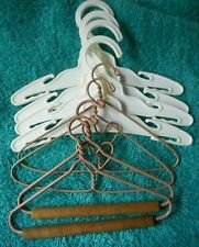 Lot of 8 doll clothes hangers decorative hangers miniature craft hangers