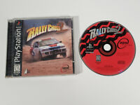Rally Cross 2 (Sony Playstation 1, PS1) - Complete w/ Manual, Tested