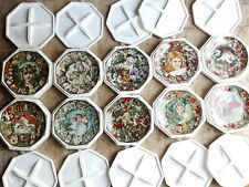 Victorian Christmas Memories Plate Collection Set Of 10 By John Grossman
