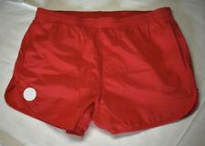 LACOSTE L!VE Nylon/Cotton Shorts/Trunks  Mens Red *Mint* Vintage? Mesh Liner
