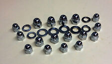 XS650 CHROME ACORN CRANKCASE KIT engine motor xs 650 chopper bobber cafe brat