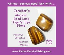 Magical Good Luck Tiger's Eye Stone To Help Me Win Money Love Success & Lottery