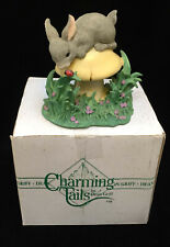 Charming Tails King of the Mushroom Mouse on Toadstool Figurine Fitz and Floyd