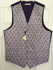 BHS Mens Wedding Waistcoat Purple/Grape Chest 38 40 42 44 BNWT