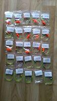 25 x Mixed Baitholder hook sea fishing Rigs 3/0 2/0 and 1/0 good 4 cod,bass etc