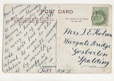 Mrs J E Holmes Wargate Bridge Gosberton Spalding 1908 534a