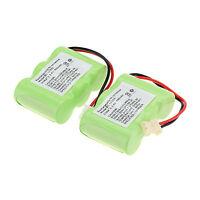 New 2pcs 400mAh 3.6v Home Phone Battery Use for Vtech BT-17333 BT17333 BT-163345