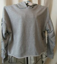 Rue 21 Plus Size Womens Gray Lace Up L/S Cropped Hoodie 1X NWT