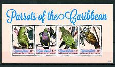 Union Island Grenadines St Vincent 2014 MNH Parrots of Caribbean 4v MS II Stamps
