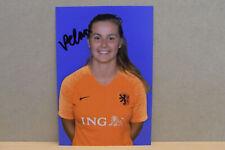 1x Photo card SIGNED : Victoria Pelova / Oranje Leeuwinnen / AJAX 2019 (03420)