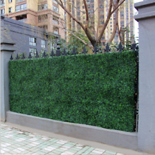 Privacy Screen Artificial Grass Green Wall Boxwood Hedge Topiary Fence 10 x 10