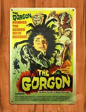 "TIN-UPS Tin Sign ""The Gorgon"" Vintage Movie Art Poster"