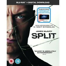 Split Blu Ray Digital Download 2017 James McAvoy and