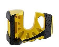 Wedge-It 3 in 1 Ultimate Door Stop Heavy Duty Lexan Plastic Rubber Shim (YELLOW)