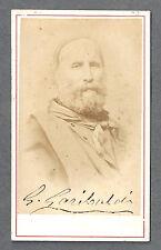 GIUSEPPE GARIBALDI Signed Photo