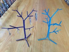 Jewelry Tree Hand Made 13 Inches Tall Holds Chains , Necklaces , Ear Rings Ect