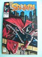 1992 SPAWN #5 STAN LEE COUPON & SPAWN FUNNY CAR POSTER INTACT TODD McFARLANE