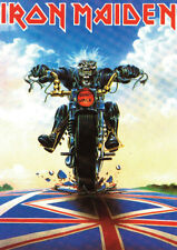 Iron Maiden Eddie on Bike POSTER