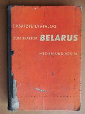 ORIGINAL Ersatzteilliste Ersatzteilkatalog Schlepper BELARUS MTS 5 M L 1958 1959