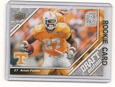 Arian Foster 2009 09 Upper Deck Draft Rookie Card