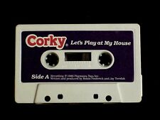 TALKING CORKY DOLL CRICKET'S BROTHER AUDIO TAPE TITLED LET'S PLAY AT MY HOUSE