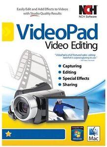 VideoPad Video Editor Home Edition AVI , MPEG editor Edit Video , Copy , Cut