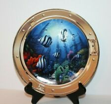 Royal Doulton Franklin Mint Limited Edition Window To Paradise Plate