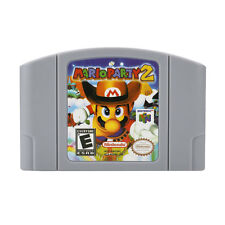 Mario Party 2 Retro For Nintendo 64 Game Card Cartridge US Version Palying