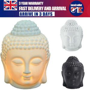 Thai Buddha Oil Burner Buddah Head Wax Melts Ornament Spa Ceramic Tea Light New