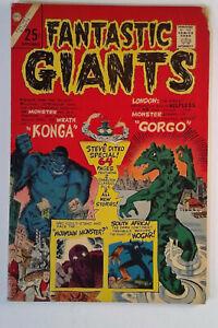 Fantastic Giants #24 (1966) Charlton 4.5 VG+ Comic Book