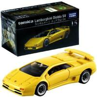 Takara Tomy Tomica Premium No.15 Lamborghini Diablo SV Yellow Diecast Car Toy