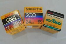 Vtg Kodak Professional - KODACOLOR VR-G - Gold -  Print Film Expired Color & B/W