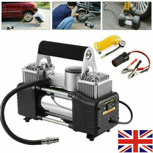 12V Car Bike Electric Tyre Inflator 100PSI Portable Cycle Air Compressor Pump UK