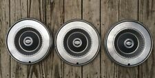 SET OF 3 VINTAGE FORD HUB CAPS WHEEL COVERS 14""