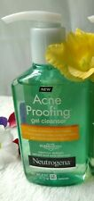 Neutrogena Acne Proofing Gel Cleanser 6 oz NEW