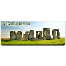 Stonehenge panoramic fridge magnet England travel souvenir
